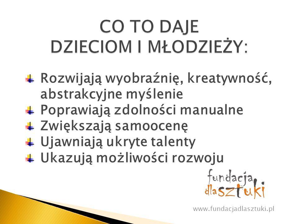 Wwww.fundacjadlasztuki.pl