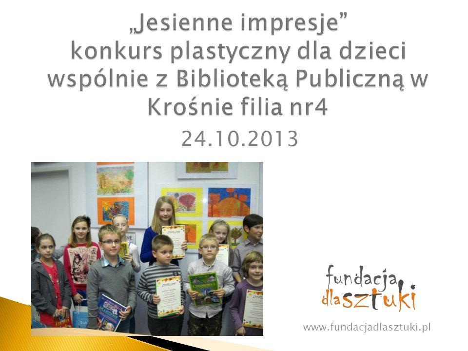Wwww.fundacjadlasztuki.pl 8.05.2014
