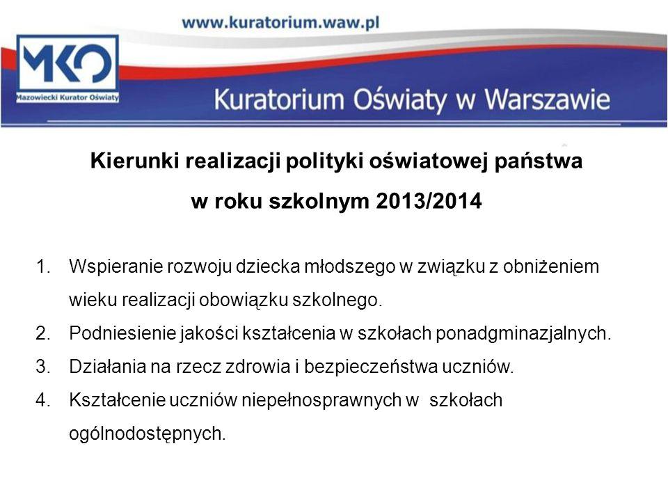 Delegatura w Płocku L.p.Tematyka kontroli planowej Liczba szkół/placówek Liczba zaleceń 8.