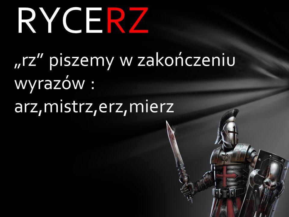 RYCE_ ż rz