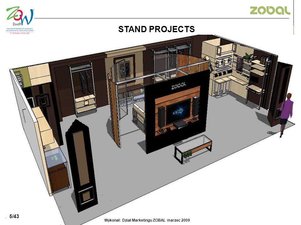 6/52 STAND PROJECTS 5/43 Wykonał: Dział Marketingu ZOBAL marzec 2009