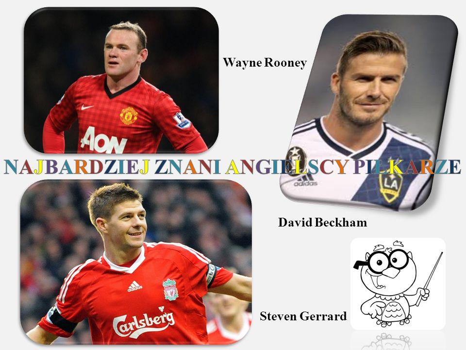 Wayne Rooney Steven Gerrard David Beckham