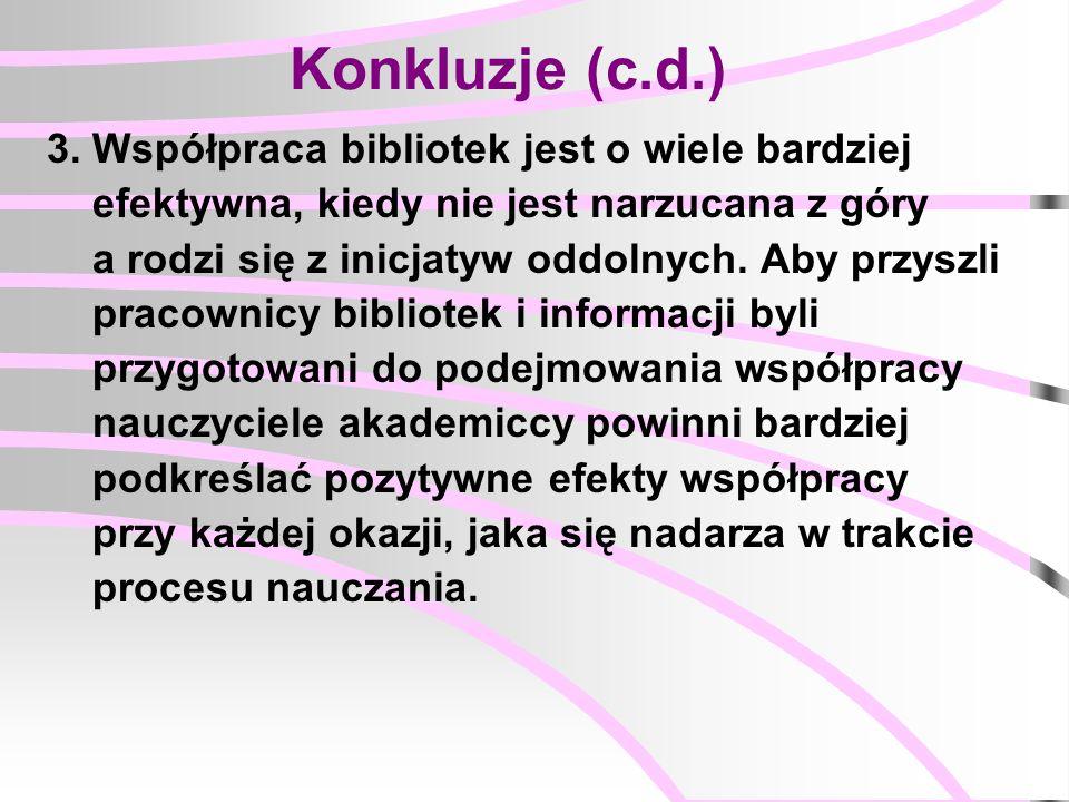 Konkluzje (c.d.) 3.