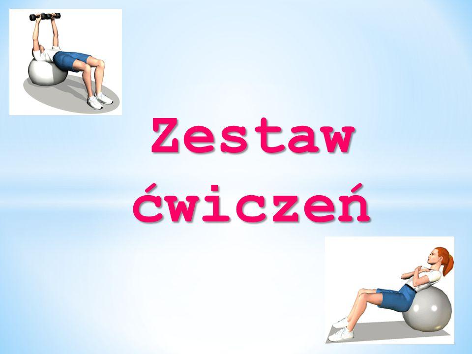Pompki Ćwiczenie to polega na położeniu się na brzuchu i ustawieniu dłoni na szerokości ramion.