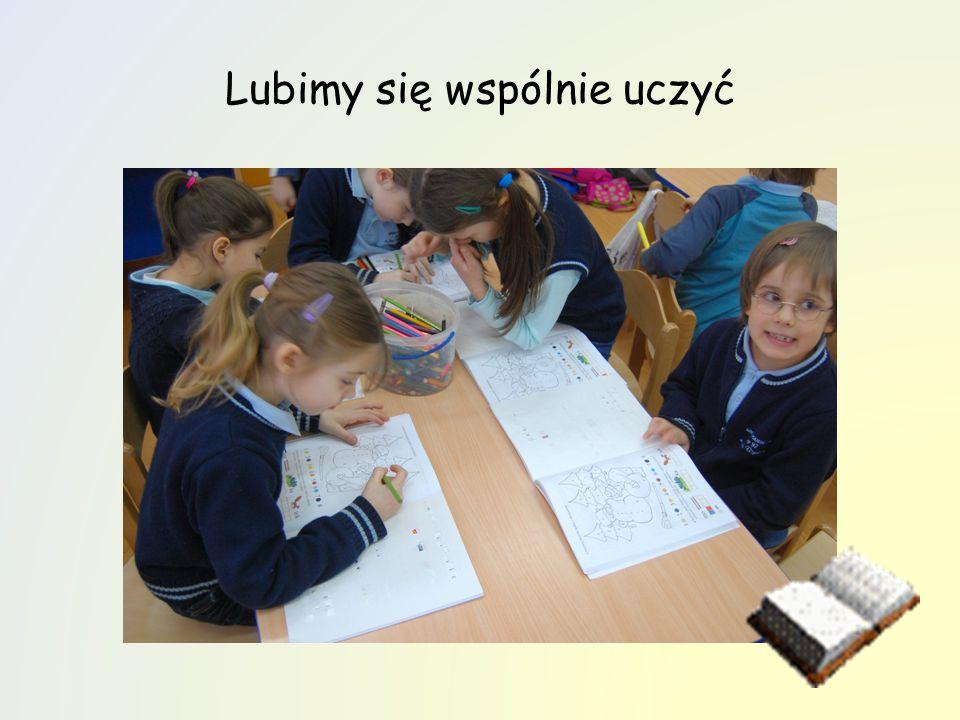 Lubimy się wspólnie uczyć