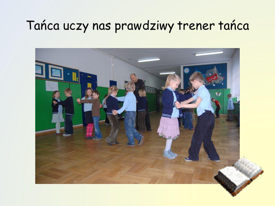 Tańca uczy nas prawdziwy trener tańca