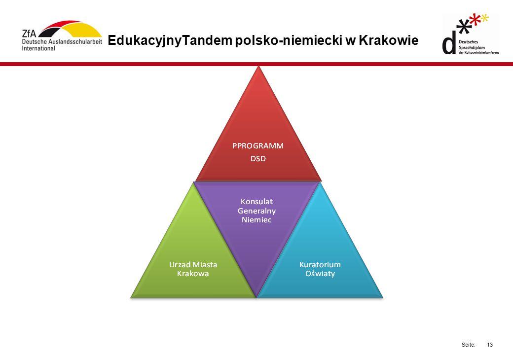 13 Seite: EdukacyjnyTandem polsko-niemiecki w Krakowie