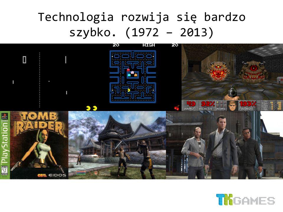 Technologia rozwija się bardzo szybko. (1972 – 2013)