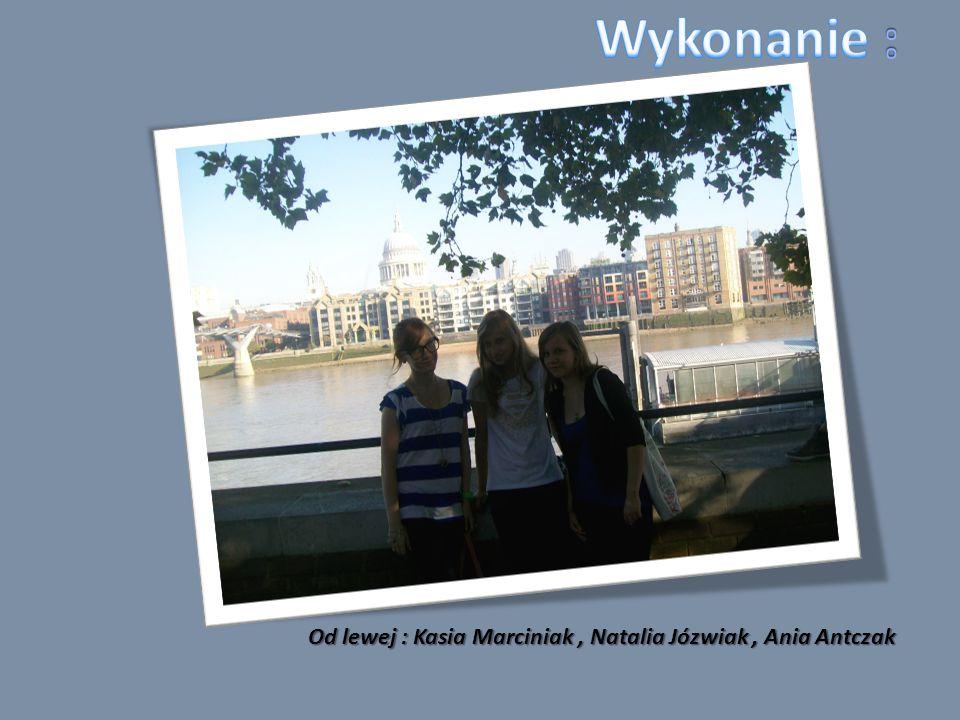Od lewej : Kasia Marciniak, Natalia Józwiak, Ania Antczak