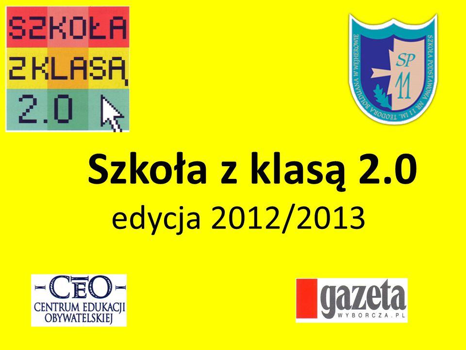 Szkoła z klasą 2.0 edycja 2012/2013