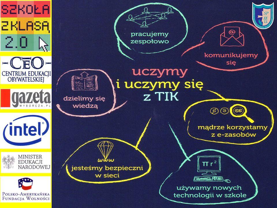 7 punktów Kodeksu 2.0 1.Ucz i ucz się z TIK.2.Z informacji korzystaj samodzielnie i krytycznie.