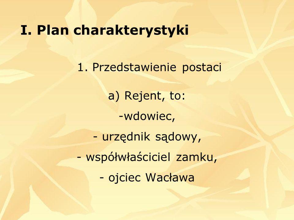 I.Plan charakterystyki 1.