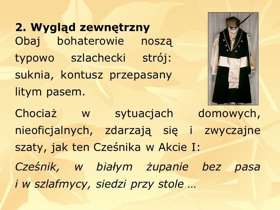 """Cześnik Maciej Raptusiewicz, jak na szlachcica przystało, chodził """"w białym żupanie , był wysoki i dobrze zbudowany."""