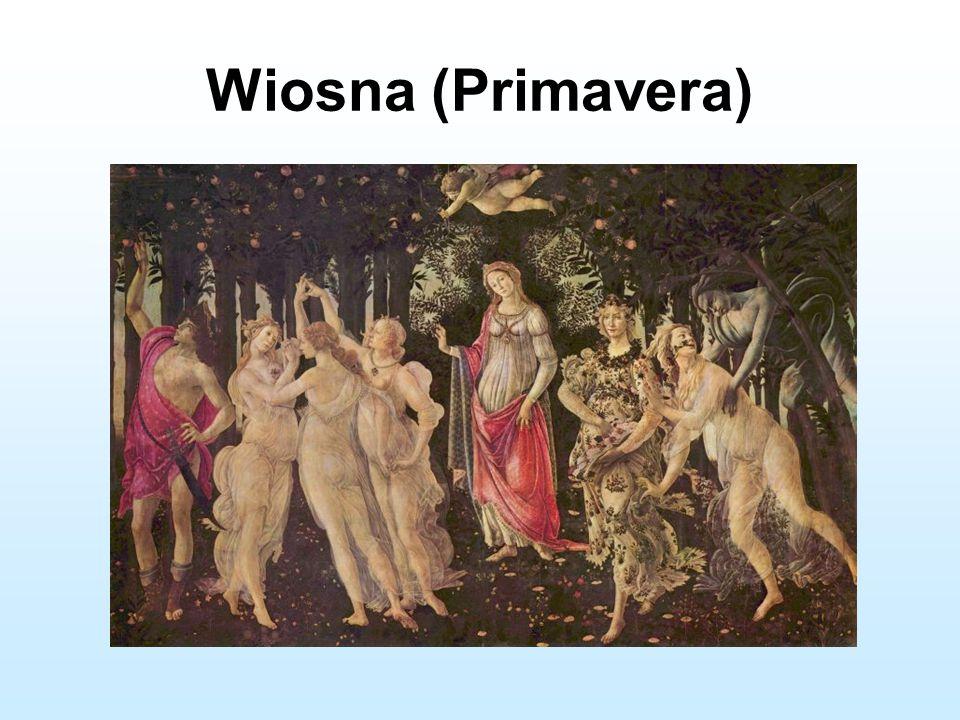 """obraz Wenus majonej kwiatami na znak wiosny (Giorgio Vasari) 1478 r."