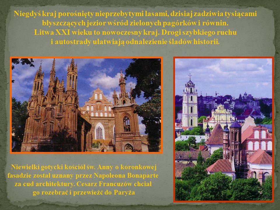 Powierzchnia: 65 200 km 2 Ludność: 3 600 158 Stolica: Wilno Język: litewski Członek UE: 2004 LITWA Złoto Litwy - bursztyn