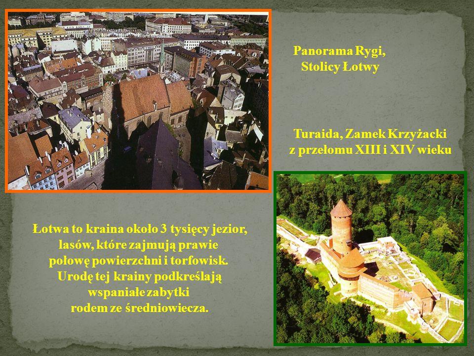 ŁOTWA Powierzchnia: 64 589 km 2 Ludność: 2 353 874 Stolica: Ryga Język: łotewski Członek UE: 2004