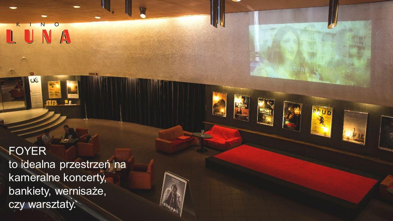 Naszym atutem jest doskonała lokalizacja, solidna i profesjonalna obsługa oraz niepowtarzalna atmosfera kina studyjnego.