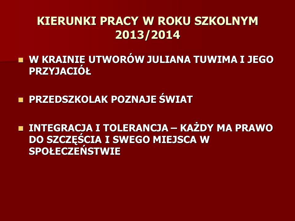 Dzieci biorą udział w Akcjach ogólnopolskich, dzięki którym ma różnorodne certyfikaty.