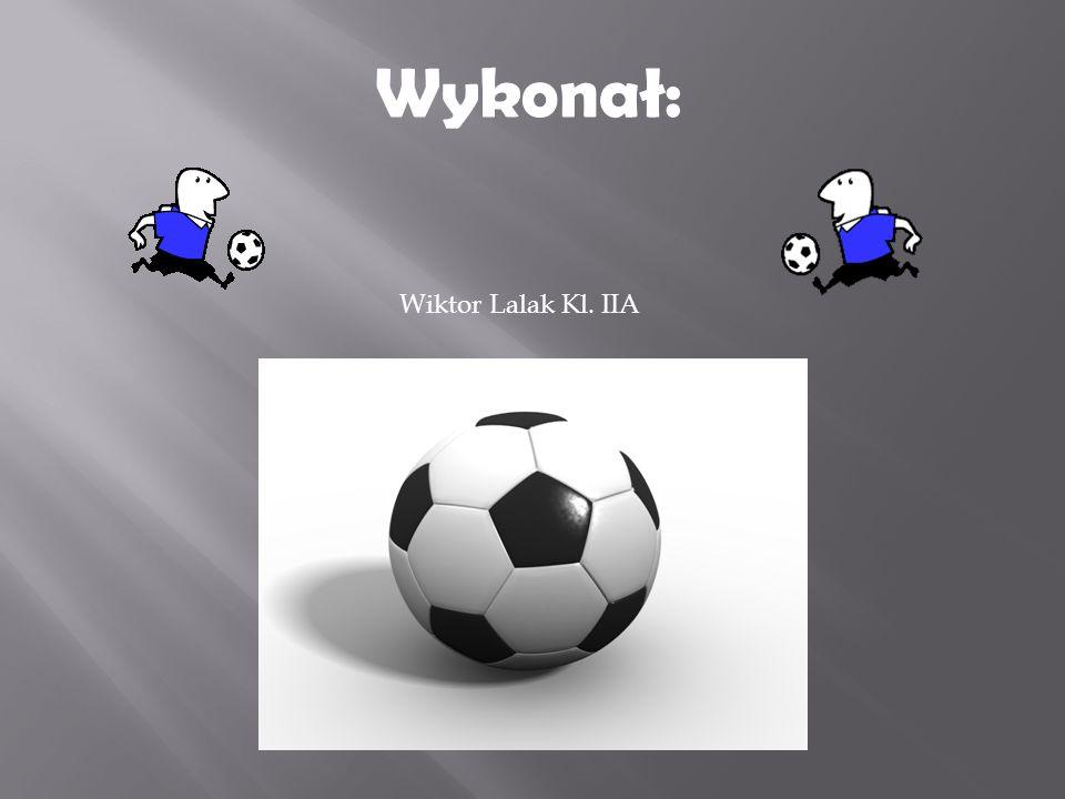 Wiktor Lalak Kl. IIA Wykonał: