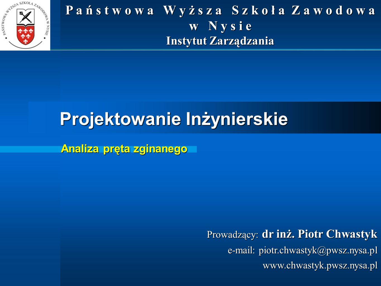 Wprowadzenie – nr 22 Wytrzymałość materiałów dr inż.