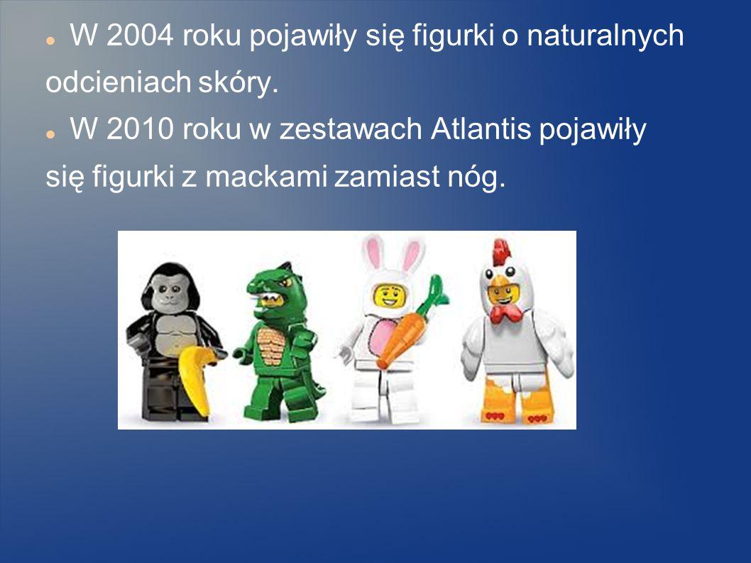 W 1990 roku po raz pierwszy pojawiła się wyspecjalizowana figurka – Duch, a w 1995 roku pojawiła się następna - Szkielet. W 2000 roku po raz pierwszy