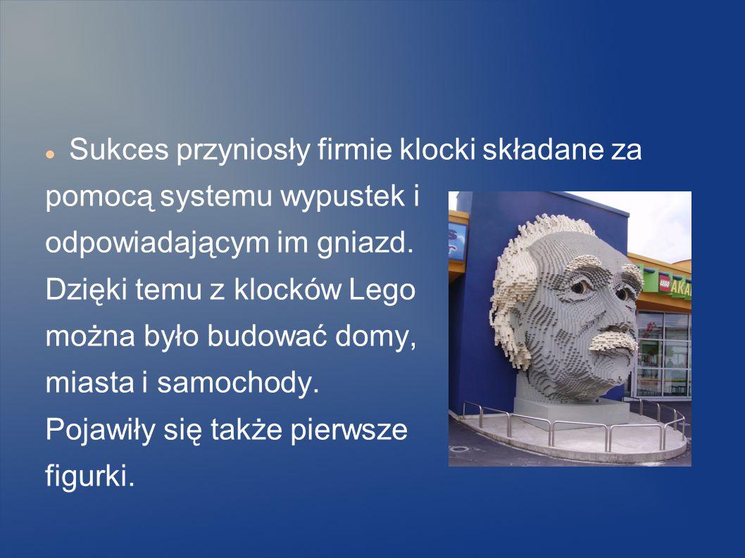 Olego Kirka Christiansena Firma założona przez duńskiego stolarza Olego Kirka Christiansena 12 października1932 roku Nazwa Lego przyjęta w 1934 roku p