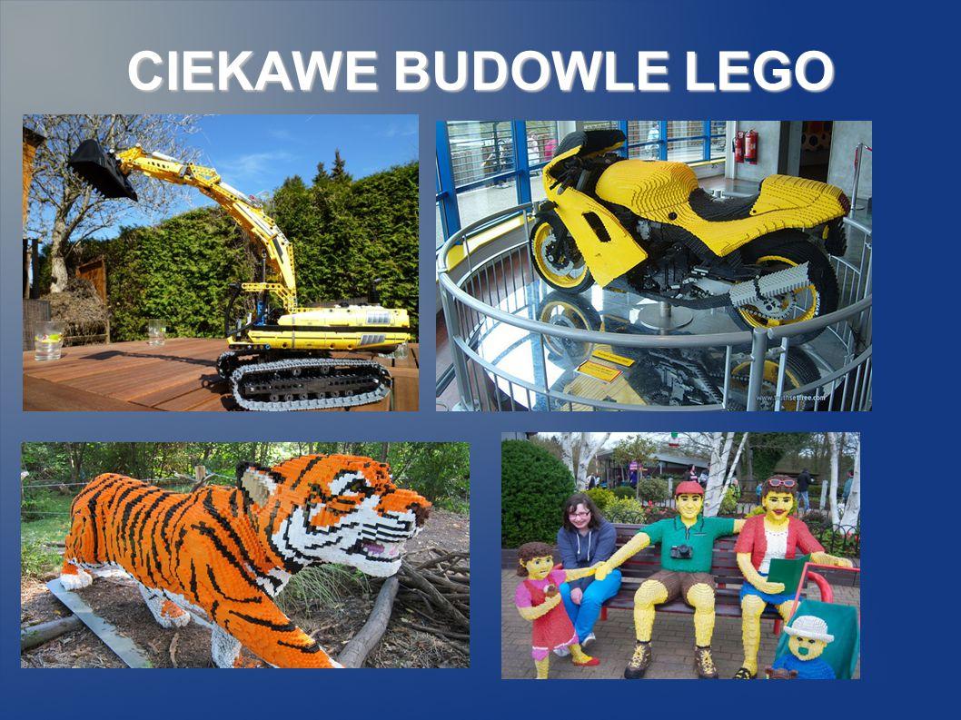 CIEKAWE BUDOWLE LEGO