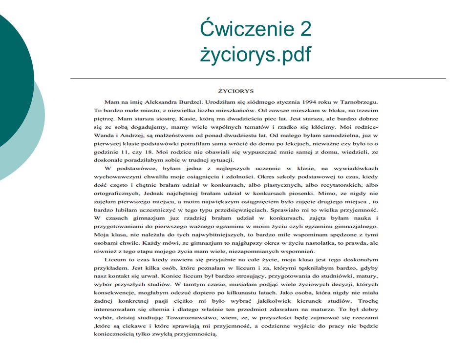 Ćwiczenie 2 życiorys.pdf