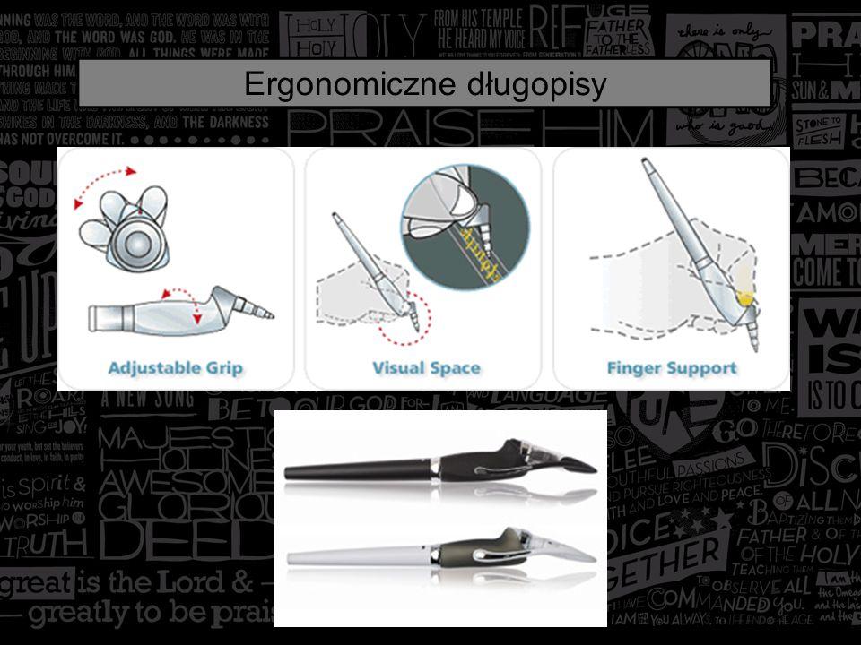 Specjalną nakładkę na palec umożliwiającą posługiwanie się długopisem, osobom z dysfunkcjami dłoni, opracował absolwent Politechniki Koszalińskiej Piotr Górski.
