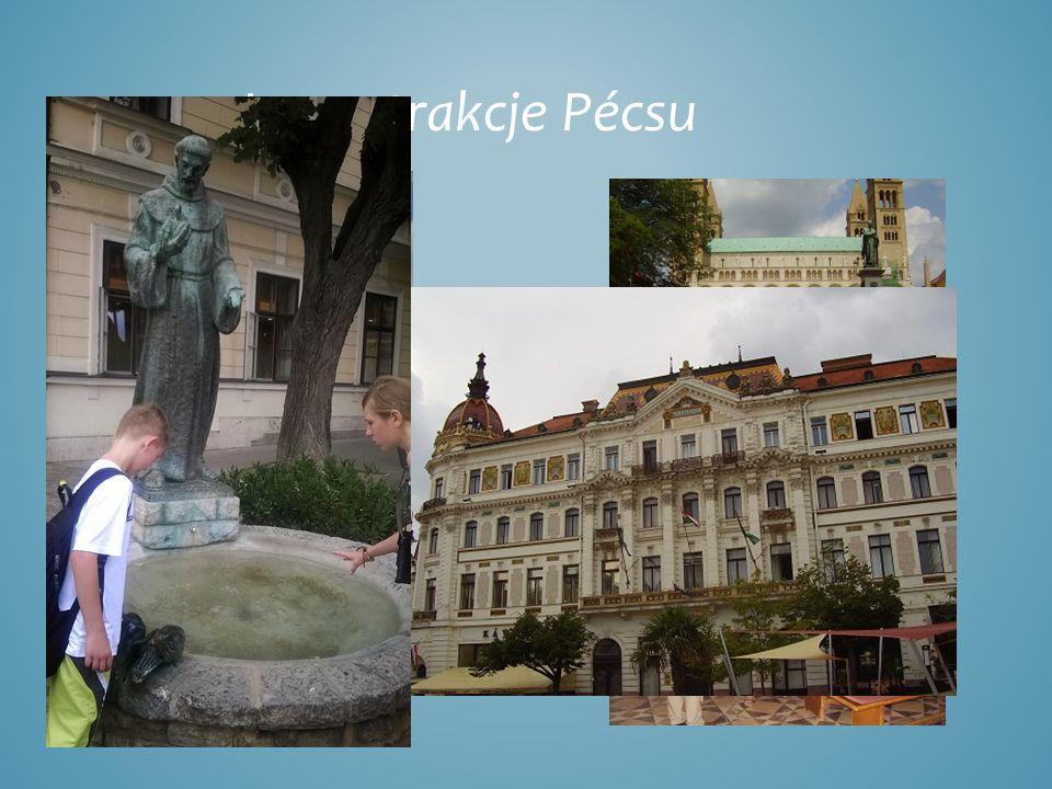 Inne atrakcje Pécsu