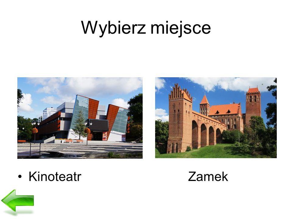 Wybierz miejsce Kinoteatr Zamek