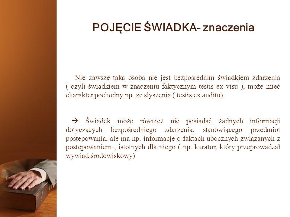UPRAWNIENIA ŚWIADKA 3.