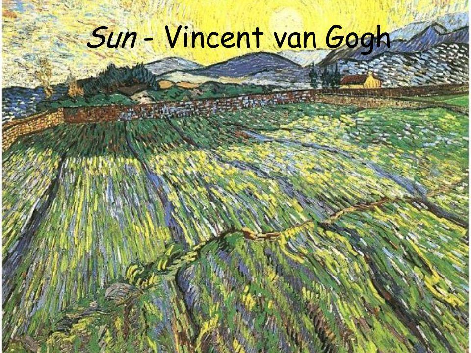 Sun - Vincent van Gogh