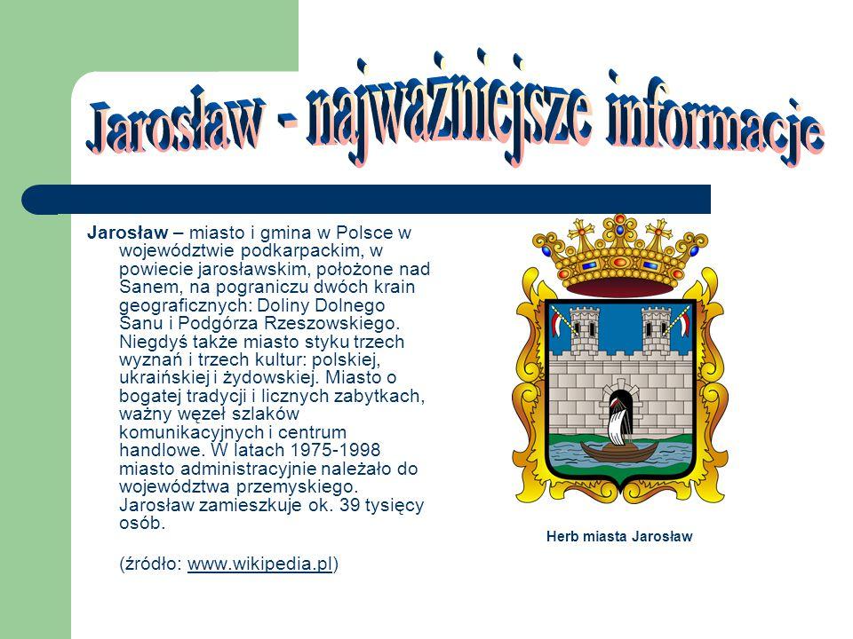 Jarosław - widok na Rynek