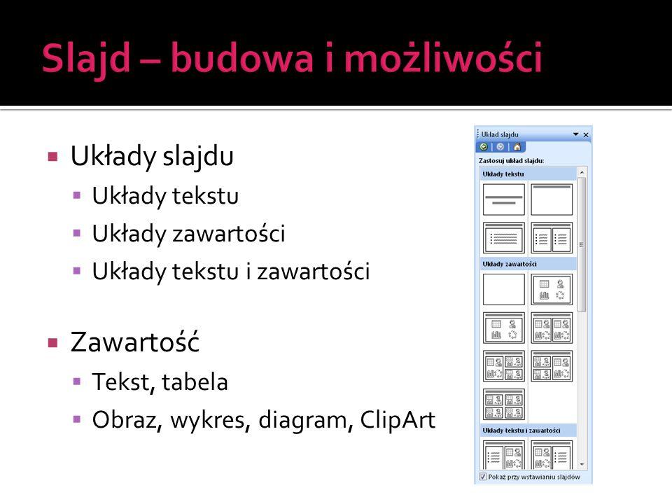  Tekst  Pola tekstowe  Wstawianie pól tekstowych: ▪ Wstaw | Pole tekstowe ▪ Pasek narzędzi