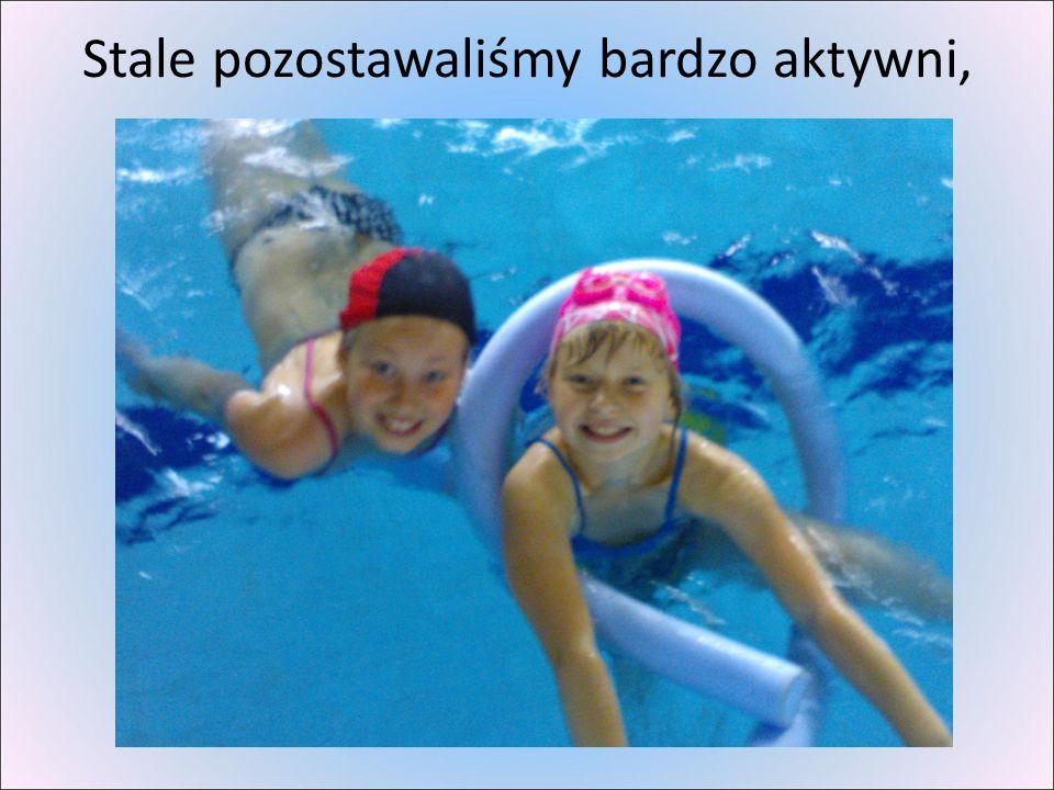 więc wyjście na basen przed letnim odpoczynkiem było wskazane.