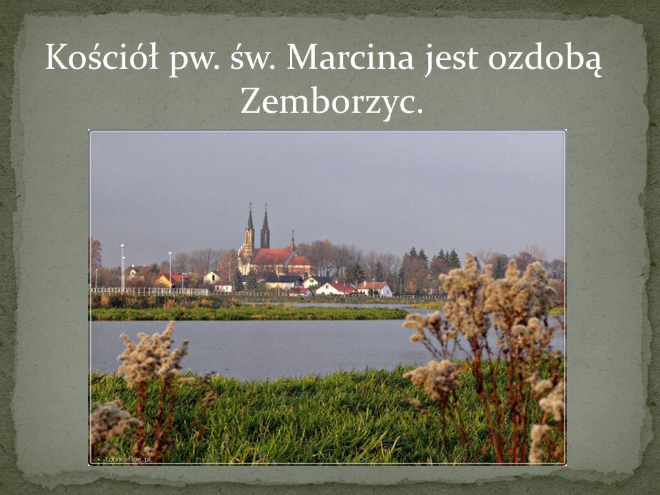 Kościół pw. św. Marcina jest ozdobą Zemborzyc.