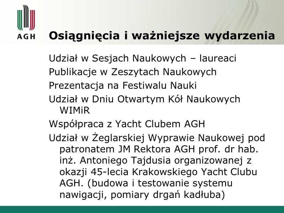 Kontakt www: home.agh.edu.pl/~mgi/cyborg/ e-mail: mgi@agh.edu.plmgi@agh.edu.pl Dołącz do najlepszych .