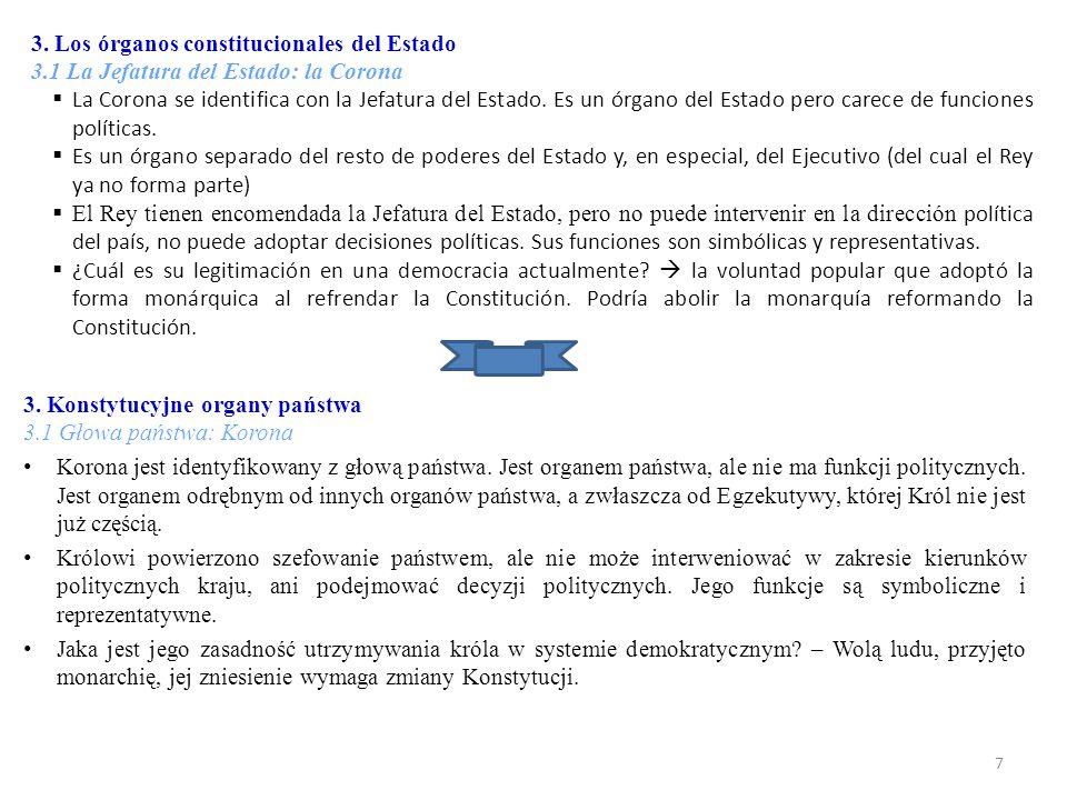  El sistema electoral en España viene regulado en parte directamente en la propia CE: art.