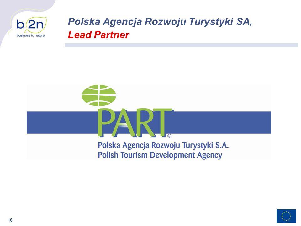 18 Polska Agencja Rozwoju Turystyki SA, Lead Partner