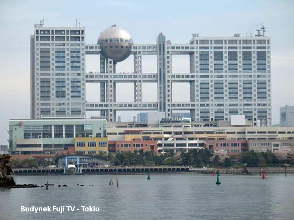 Budynek Fuji TV - Tokio