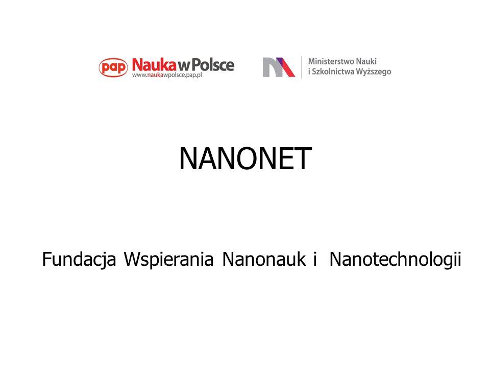 NANONET Fundacja Wspierania Nanonauk i Nanotechnologii