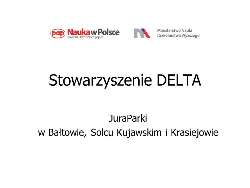 Stowarzyszenie DELTA JuraParki w Bałtowie, Solcu Kujawskim i Krasiejowie