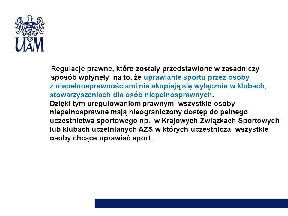 Uniwersytet im.Adama Mickiewicza w Poznaniu jako jedyna uczelnia w kraju w 2004r.