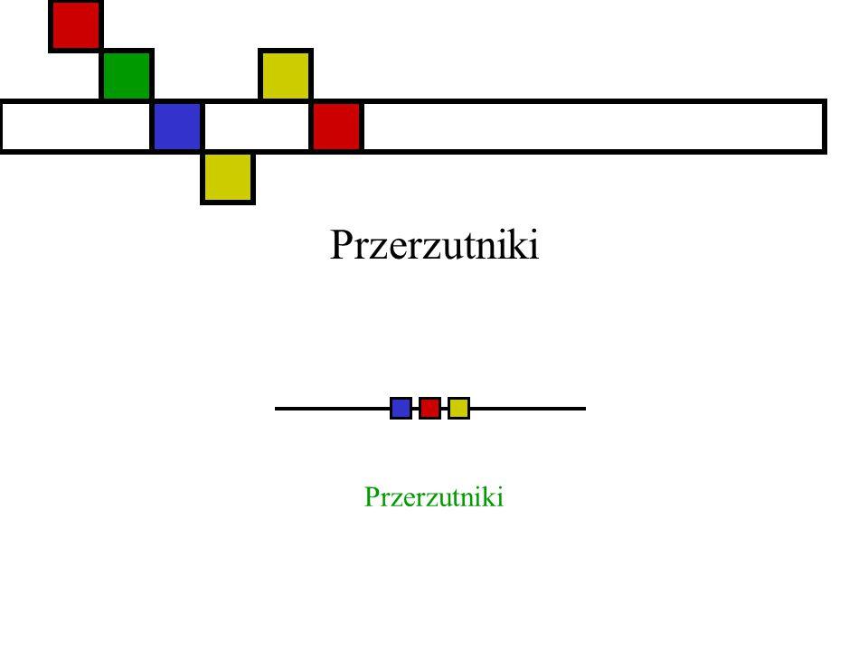 Danuta Stanek Podstawowe przerzutniki Przerzutniki są podstawowymi elementami pamięci.