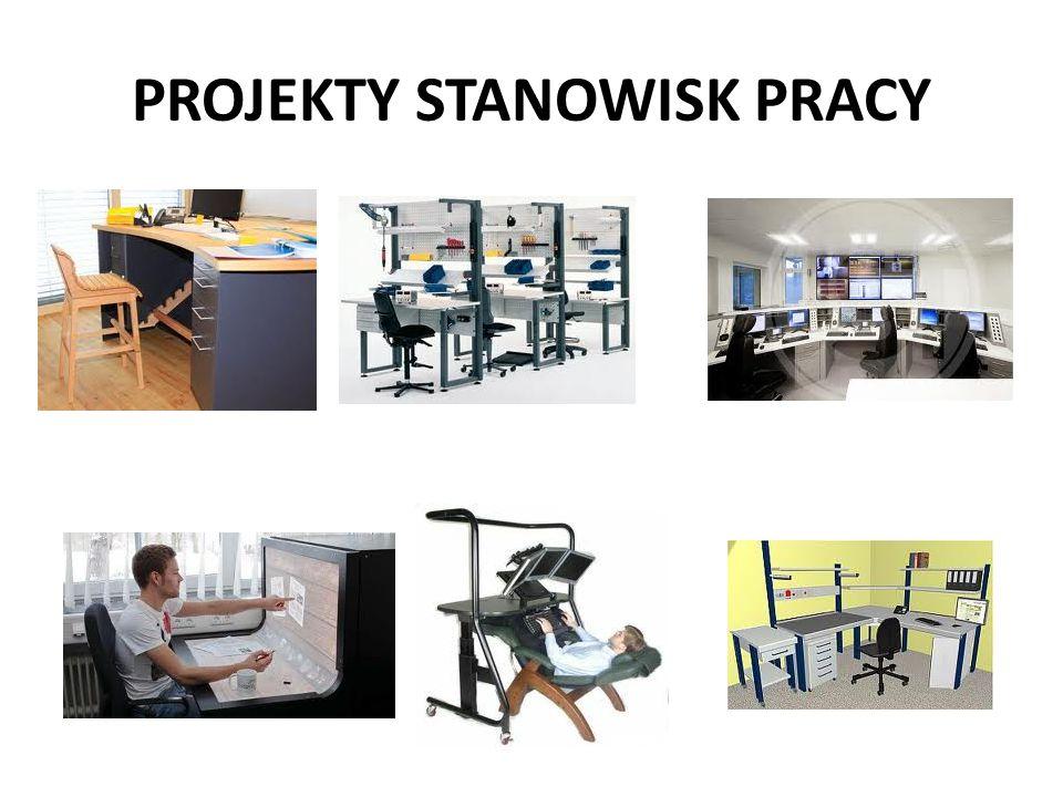 PROJEKTY STANOWISK PRACY