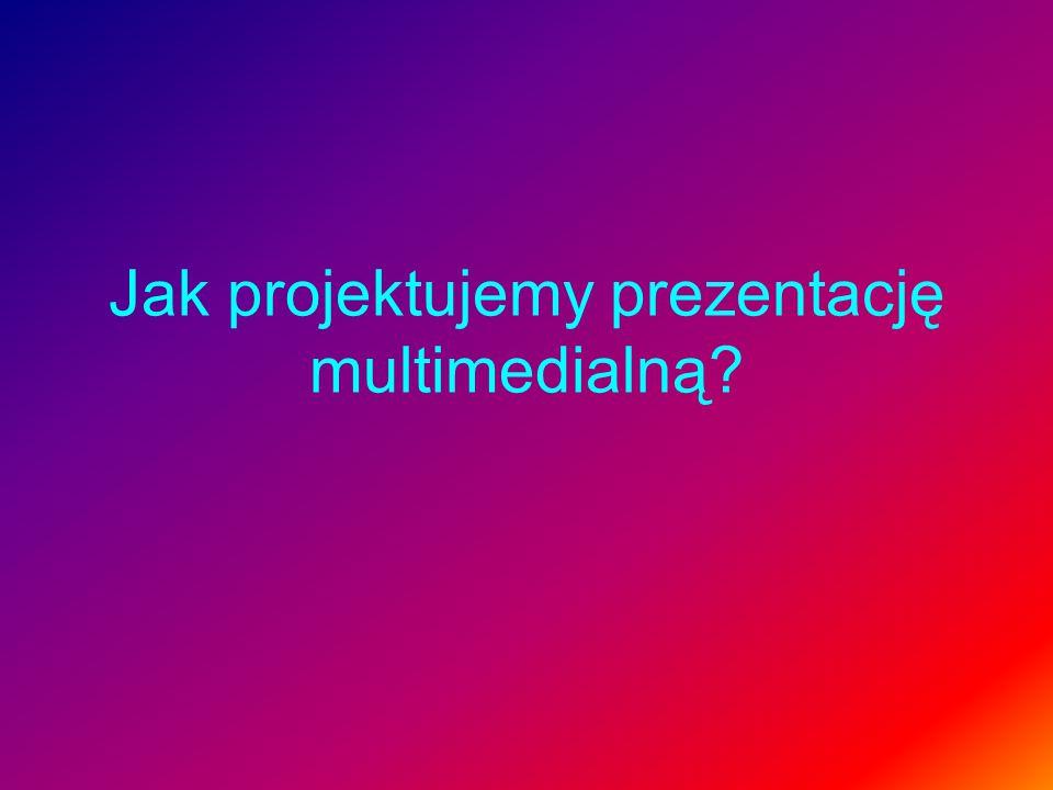 Jak projektujemy prezentację multimedialną?