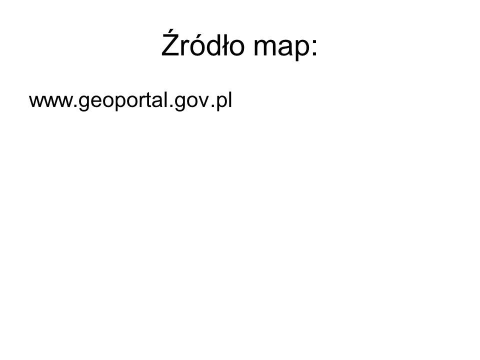 Źródło map: www.geoportal.gov.pl
