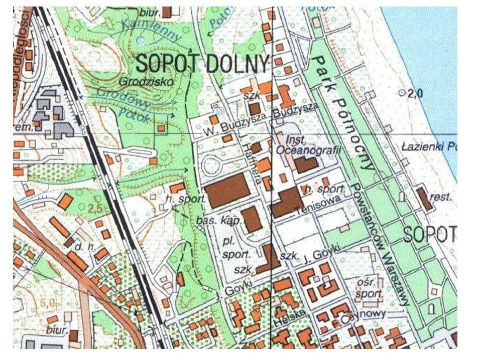 Dolina Kamiennego Potoku ma w miejscu rozcięcia Skarpy Sopockiej 30 m.