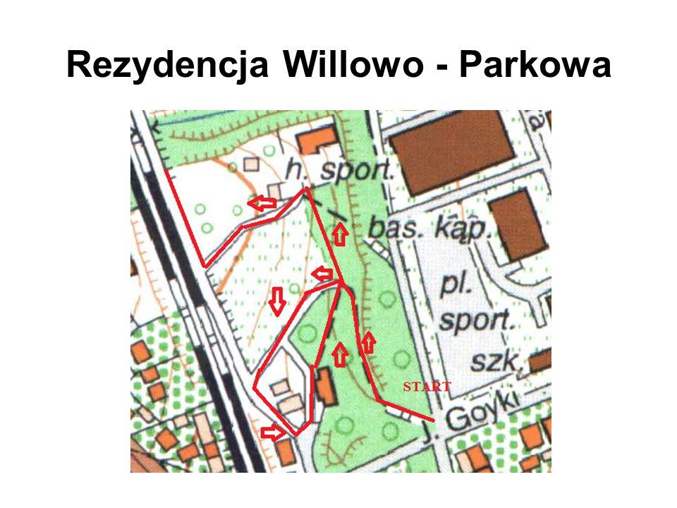 Obszerna parcela przy ul.Goyki 1-3 z dwoma zabytkowymi budynkami oraz otaczającym je parkiem.